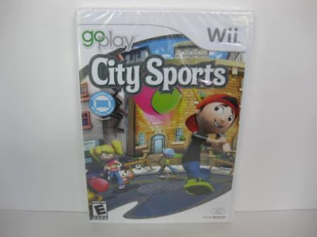 Go Play City Sports (SEALED) - Wii Game